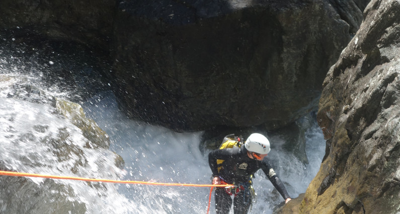 Canyoning Pelvoux Vallouise