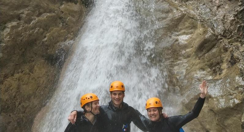 canyoning limite sportif !