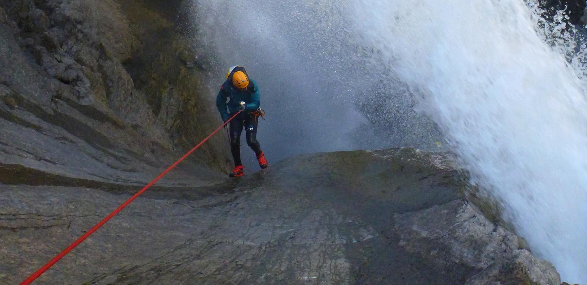 Canyoning Oules de Freissinières