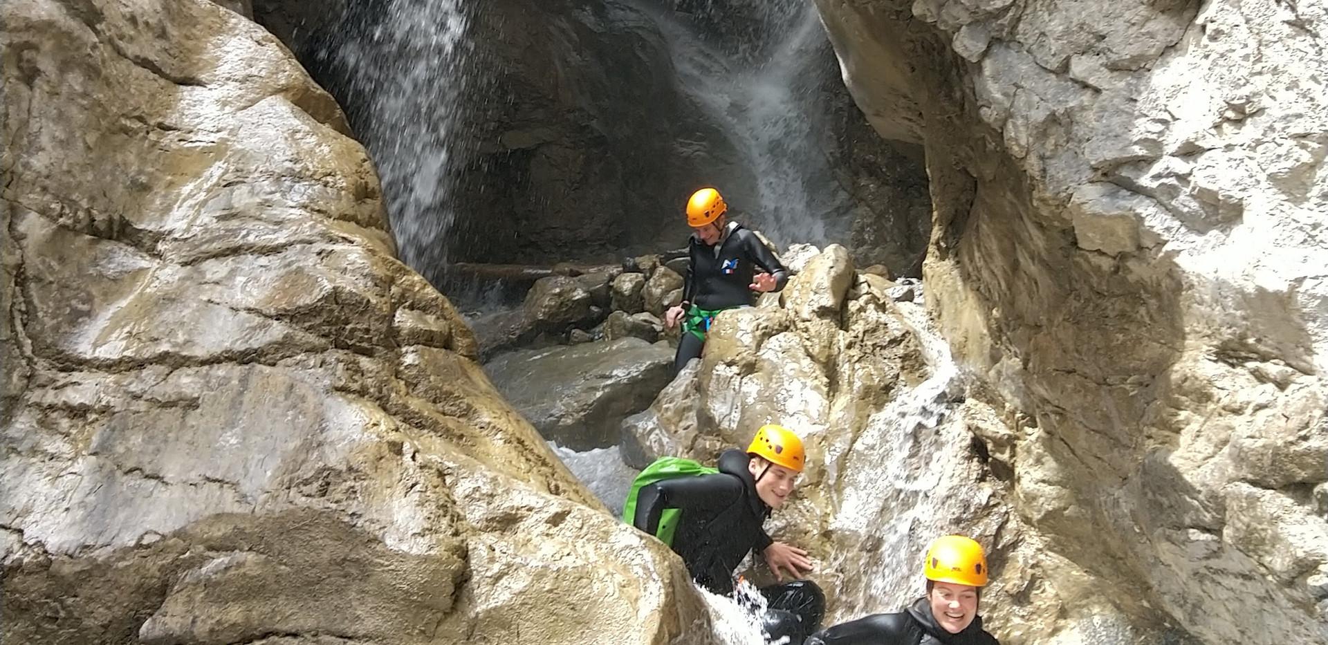 un super canyon à découvrir entre amis aussi