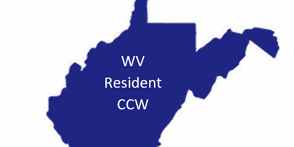WV Resident CCW Course - Aug 14th