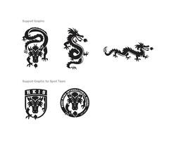dragon support logos
