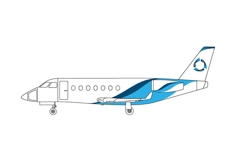 jet drawing