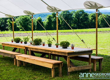 Anne Skidmore - Timber Hill Farm - Farm Tables and Benches
