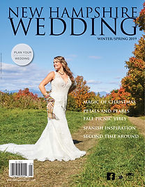 NH Wedding Magazine Cover 2019