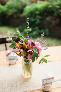Farm Cut-Flower Arrangement