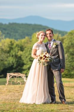 Happy Married Bride & Groom