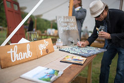 Timber Hill Farm - Bravo Photo - Guest Book Welcome Table