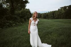 Bride in Gully Field