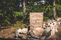 Clifford Photo - Wedding Sign