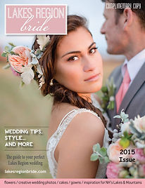 Lakes Region Bride - 2015 Cover