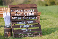 Expose the Moment - Ceremony Sign
