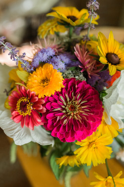 Farm Cut Flower Arrangement