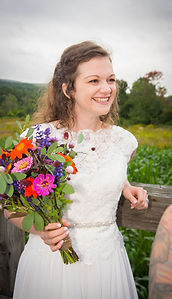 Moments in Time - Timber Hill Farm - Happy Bride