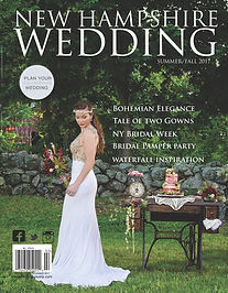NH Wedding Magazine Cover 2017