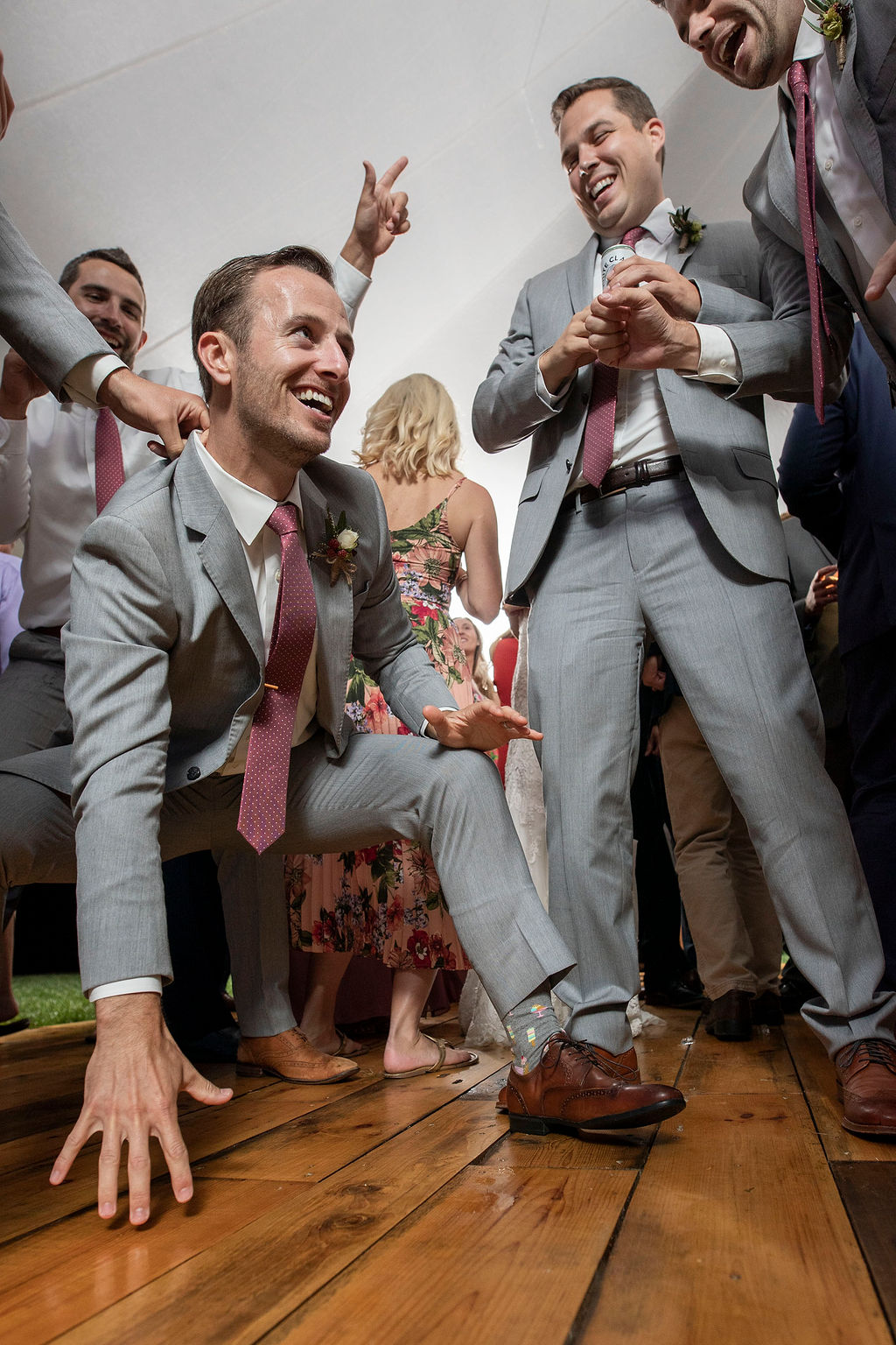 Groom on Dancefloor