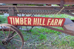 Timber Hill Farm Sign