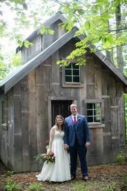 Bride & Groom at Sugar House