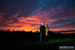 Anne Skidmore - Couple Sunset