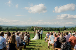 Ceremony in Meadows