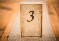 Timber Hill Farm - Custom Table Numbers