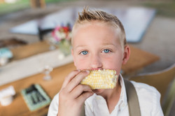 Timber Hill Farm - Eating Farm Corn