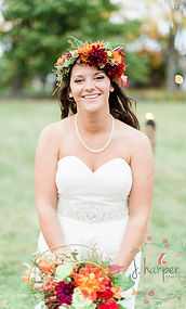 Timber Hill Farm - Jackie Harper Photo - Happy Fall Bride
