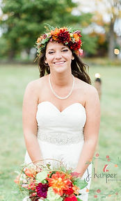 Timber Hill Farm - Jackie Harper Photo - Happy Fall Bride
