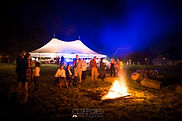 Clifford Photo - Wedding Tent & Bonfire