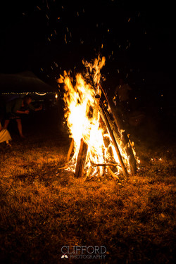 Clifford Photo - Bonfire