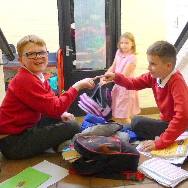 Being protons after school at Hartside