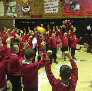 Brownian motion experiment at Hartside School