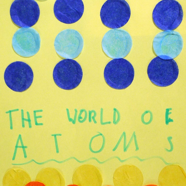 Atomic collage at St Michaels School