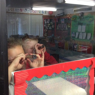 Discovering spectra in the Hartside school lights