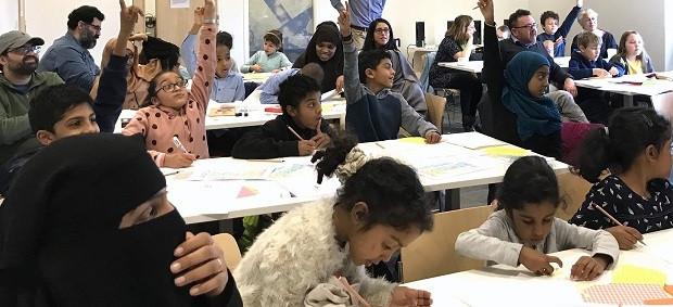 Family workshops at Shepherds Bush