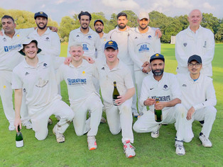 Promotion Achieved for Brentham Second XI