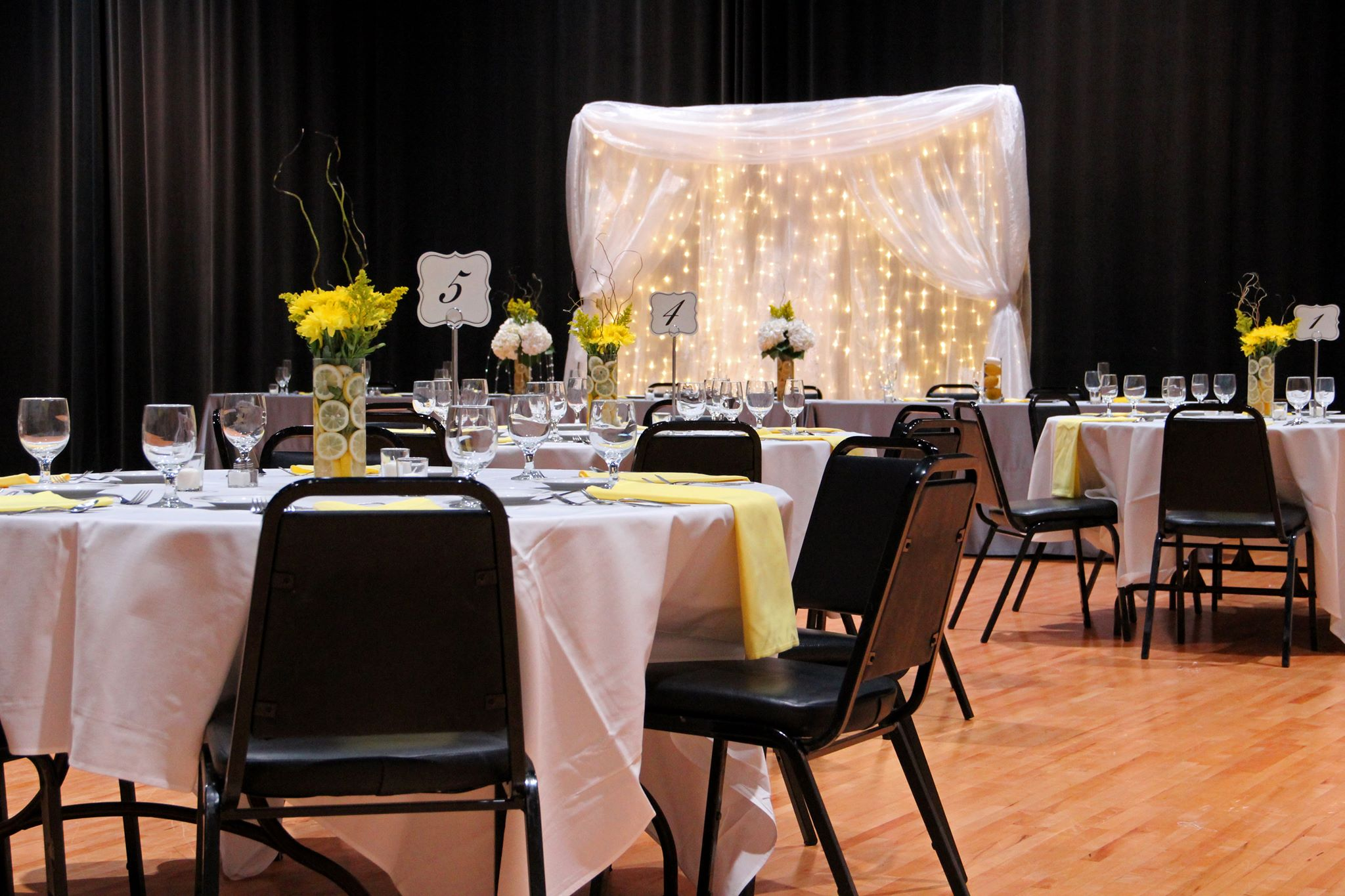Wedding Reception in Deckmann Studio
