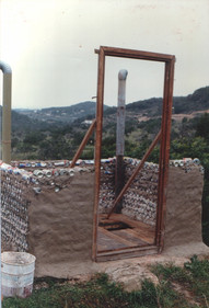 1996 - construction of the eco-toilet