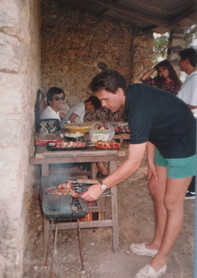 1991 - cooking the food