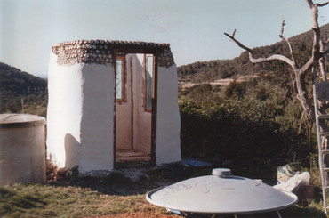 1996 - eco-toilet nearing completion