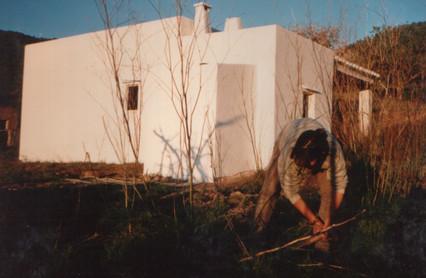 1991 - in the garden