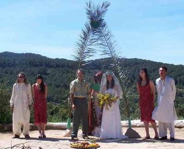 Gaia Wedding line up - April 4th 2004.JP