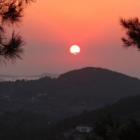 Sunset at Casita Verde