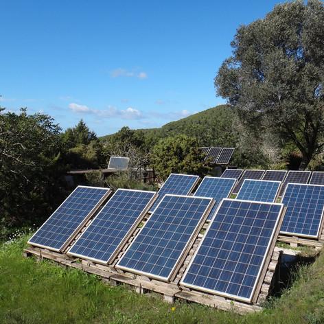 4KW/h of solar energy