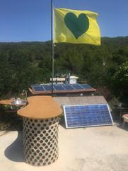 Greenheart flag on rooftop bar.jpg