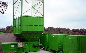 quai de transfert déchets tri selectif compacteurs