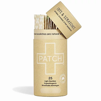 PATCH Biodegradable Plasters | Natural | 25 Pack