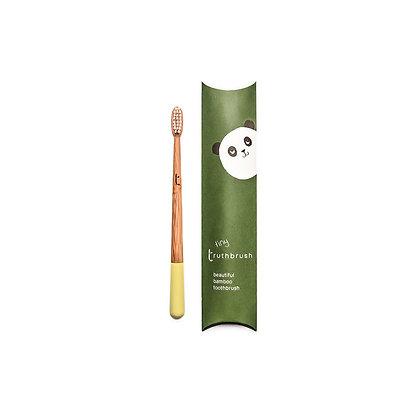 Childrens Bamboo Toothbrush | Sunshine Yellow | Truthbrush
