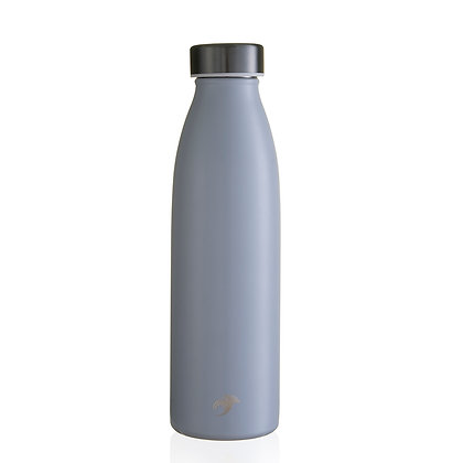 One Green Bottle - Dove Grey Thermal Insulated 500ml bottle
