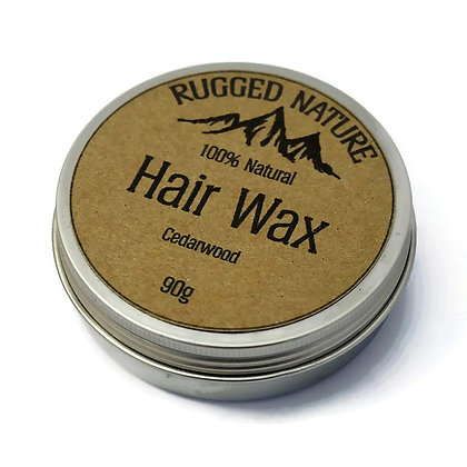 Rugged Nature Cedarwood Hair Wax 90g